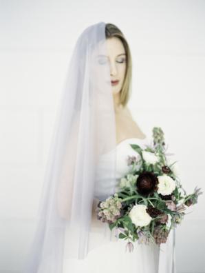 Modern Ikebana Maine Wedding Inspiration 8