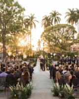 Ringling Museum Outdoor Wedding Ceremony