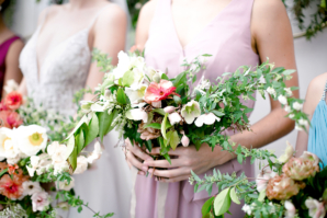 Romantic Bridesmaids Dresses from Davids Bridal