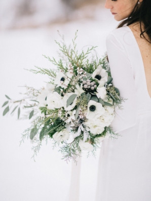 Winter Bouquet with Anemones
