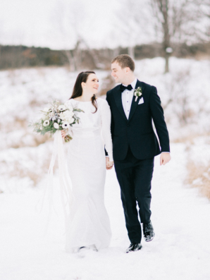 Wisconsin Winter Wedding Natashia Nicole 2