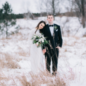 Wisconsin Winter Wedding Natashia Nicole 6