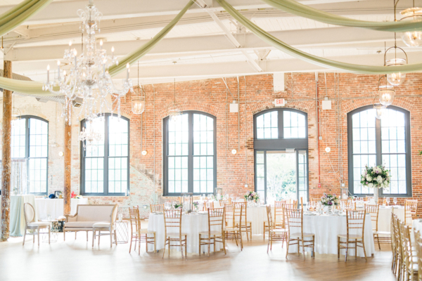 Brick Loft Wedding Reception
