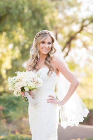 Bride in Justin Alexander Gown