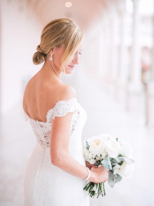Bride in Sareh Nouri Gown