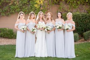 Bridesmaids Dresses in Stone