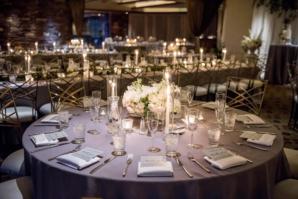 Country Club Evening Wedding Reception