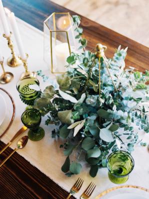 Eucalyptus Centerpiece