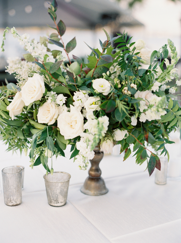 Ivory and Greenery Wedding Flowers
