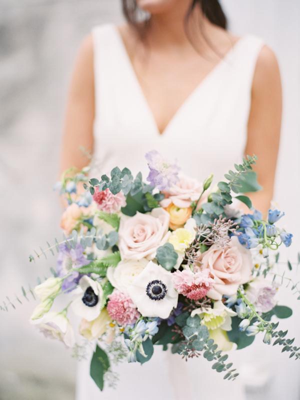 Large Pastel Bride Bouquet