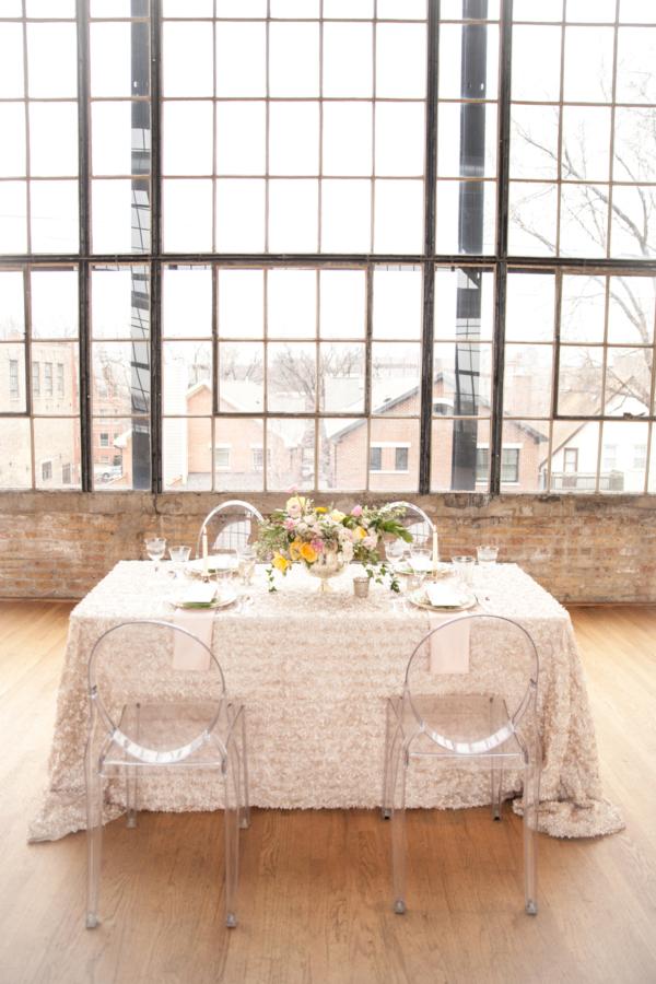Peach and Blush Wedding in Loft