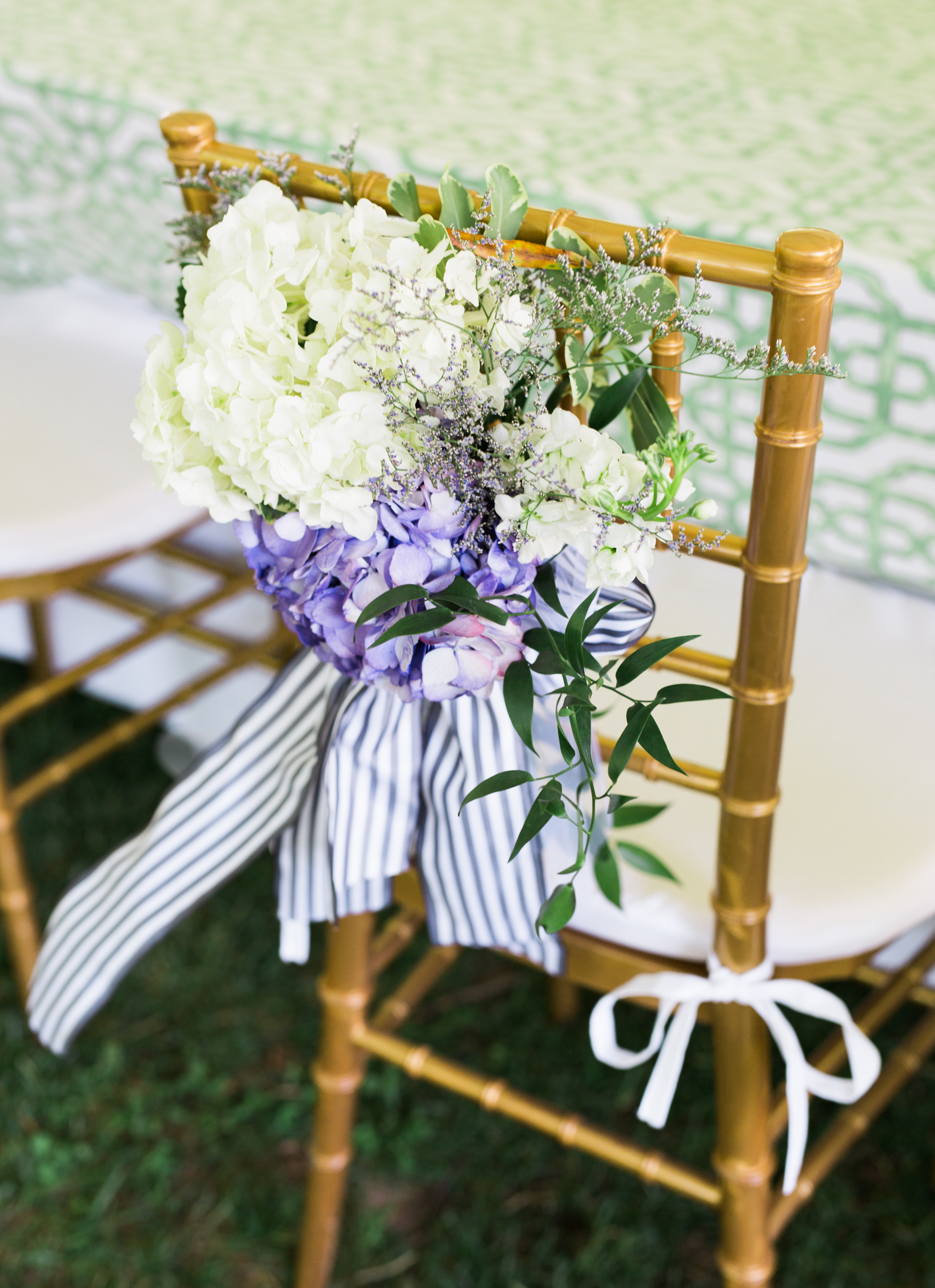 Purple And White Hydrangea Wedding Flowers Elizabeth Anne Designs