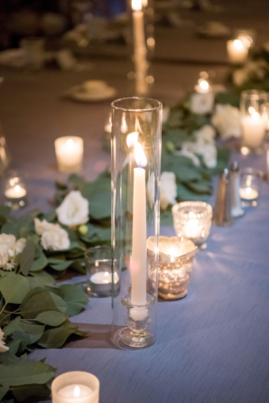 Taper Candles for Evening Wedding