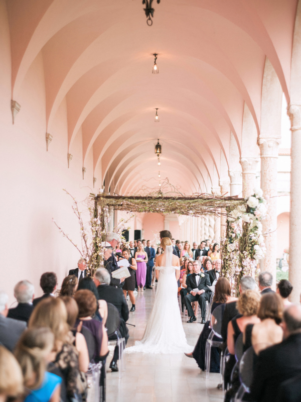 Wedding Chuppah with Branches