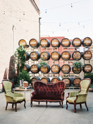 Wedding Lounge in Winery