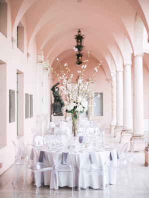 Wedding Reception on Museum Portico