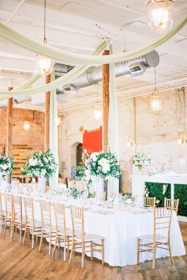 Wedding in Brick Loft