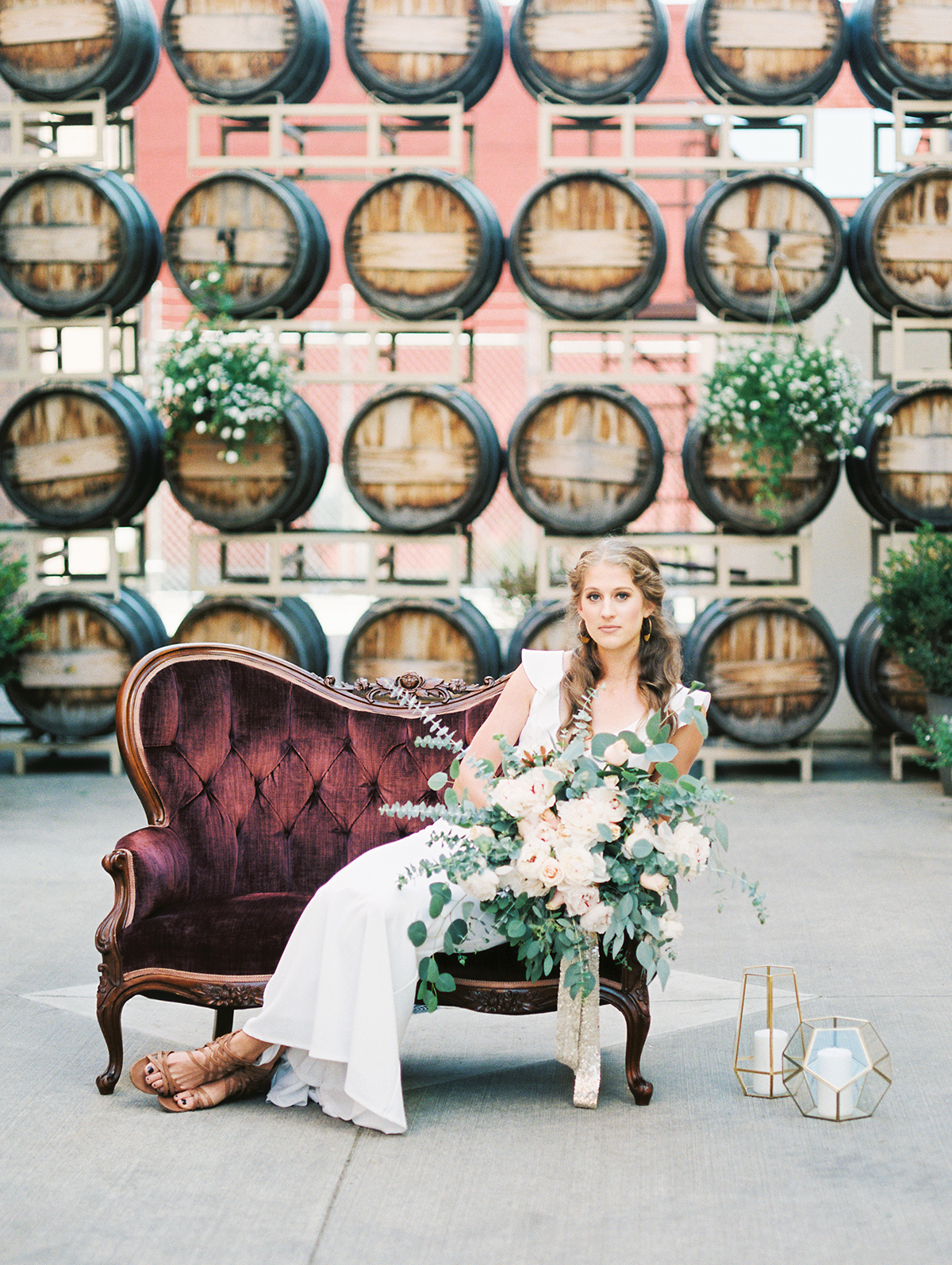 Winery Bridal Inspiration