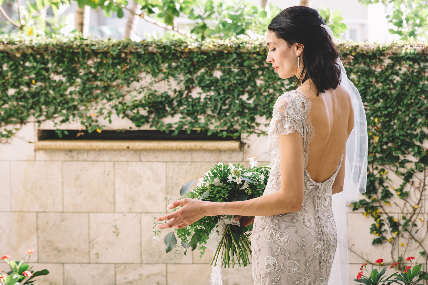 Bride in Anna Maier Ulla Maija