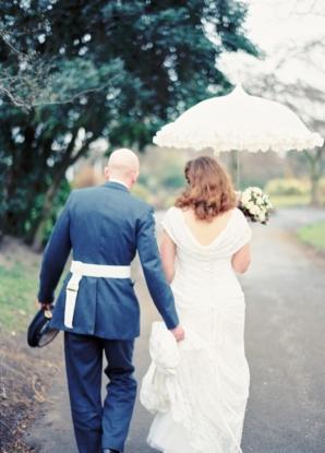 Rainy Day British Wedding