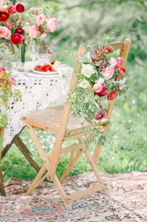 Red Garden Wedding