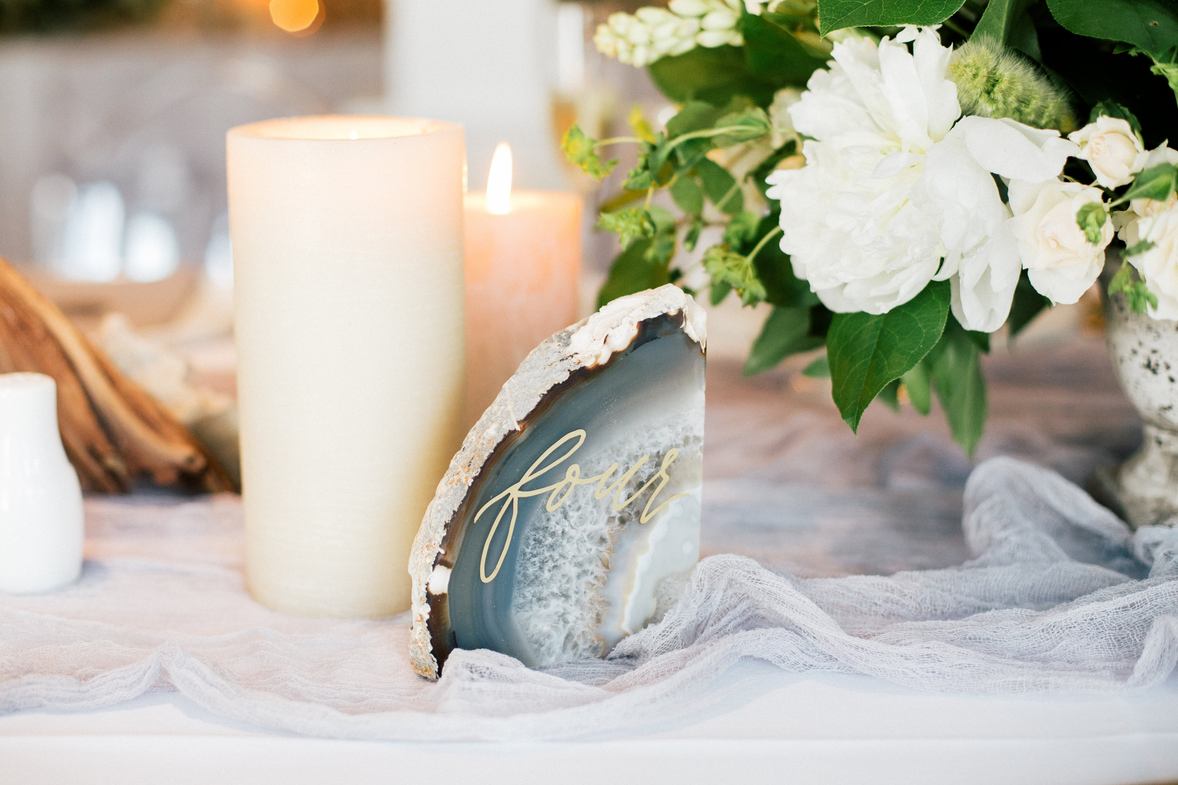 Agate Table Number