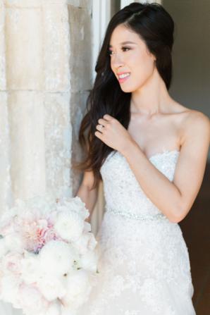 Bride in Sophia Tolli