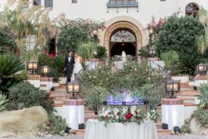 California Villa Outdoor Wedding