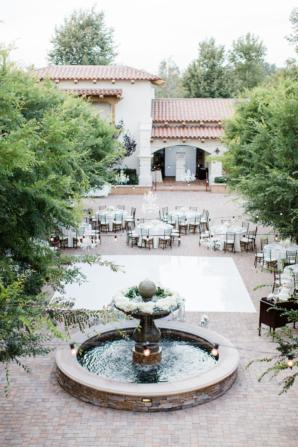 California Villa Wedding Reception