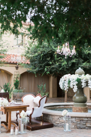 California Villa Wedding with Orchids