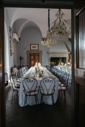 Elegant Florence Italy Villa Wedding
