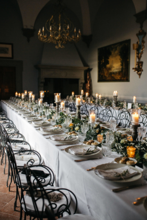 Elegant Italy Villa Wedding