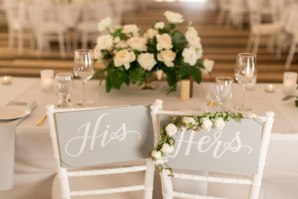 His and Hers Chair Signs