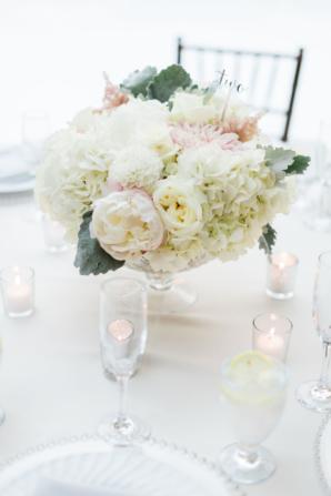 Hydrangea Peony and Dahlia Bouquet
