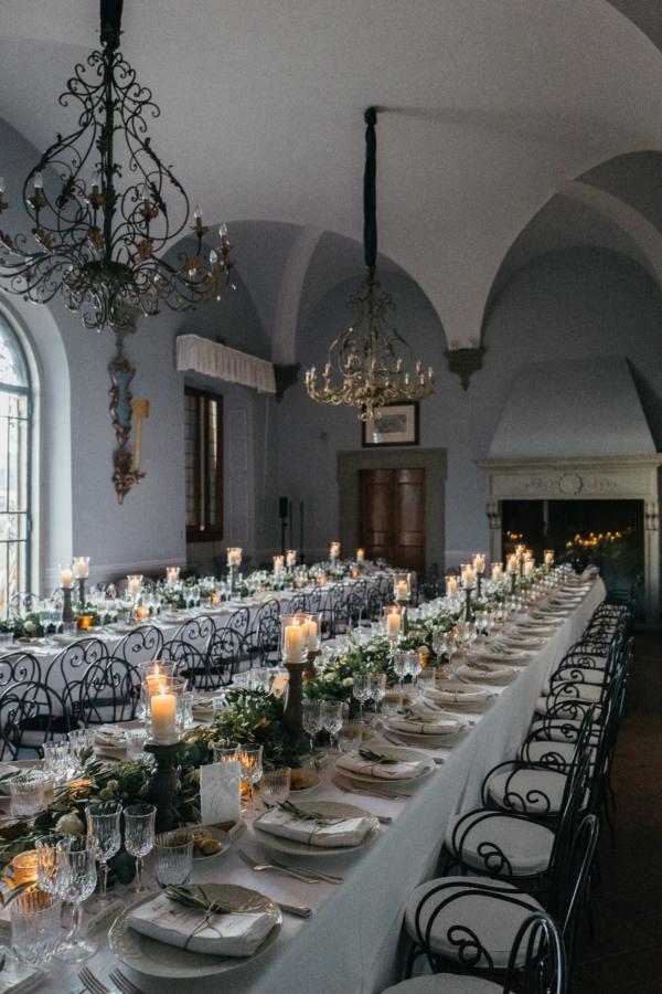 Italian Villa Wedding Reception