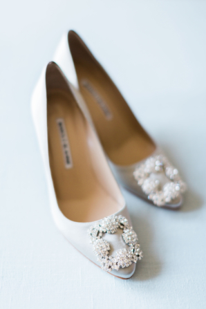 Manolo Blahnik Bride Shoes