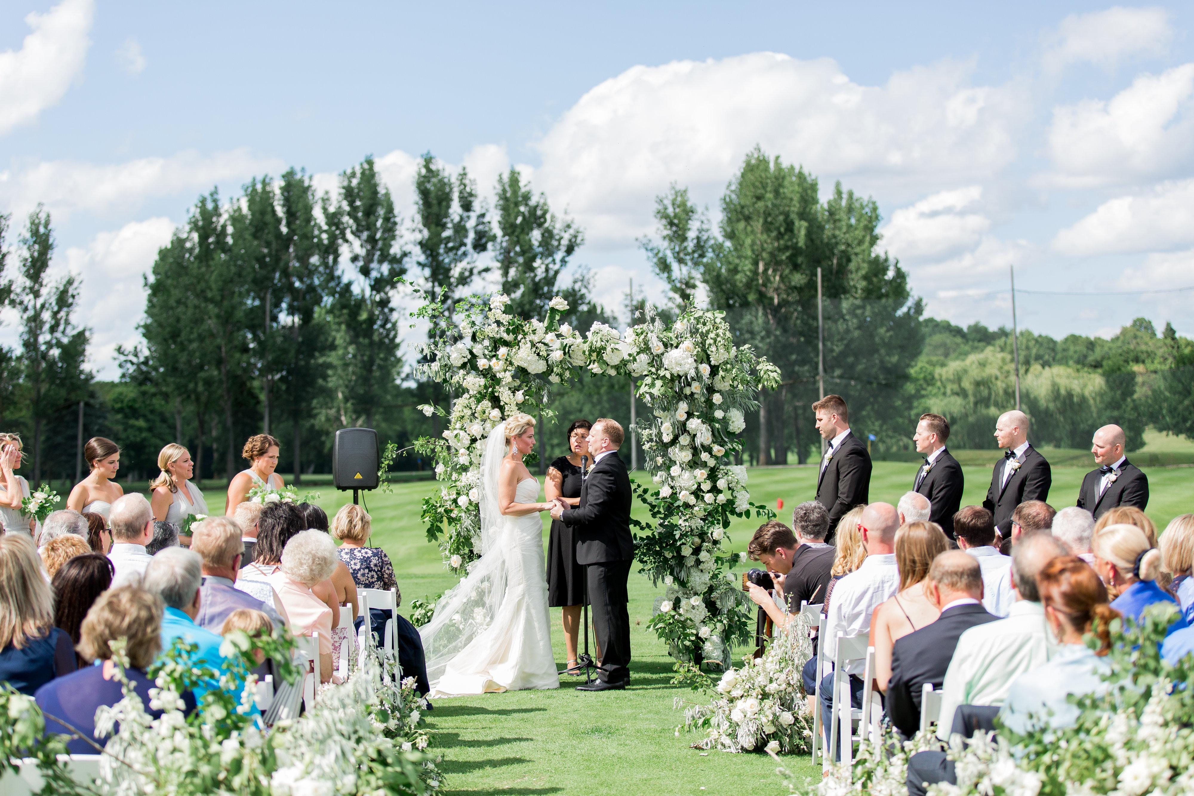Minnesota Outdoor Wedding