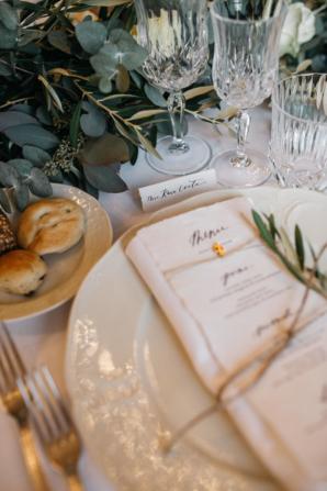 Olive Leaf Wedding Details