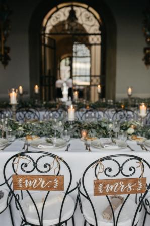 Tuscany Villa Wedding Reception