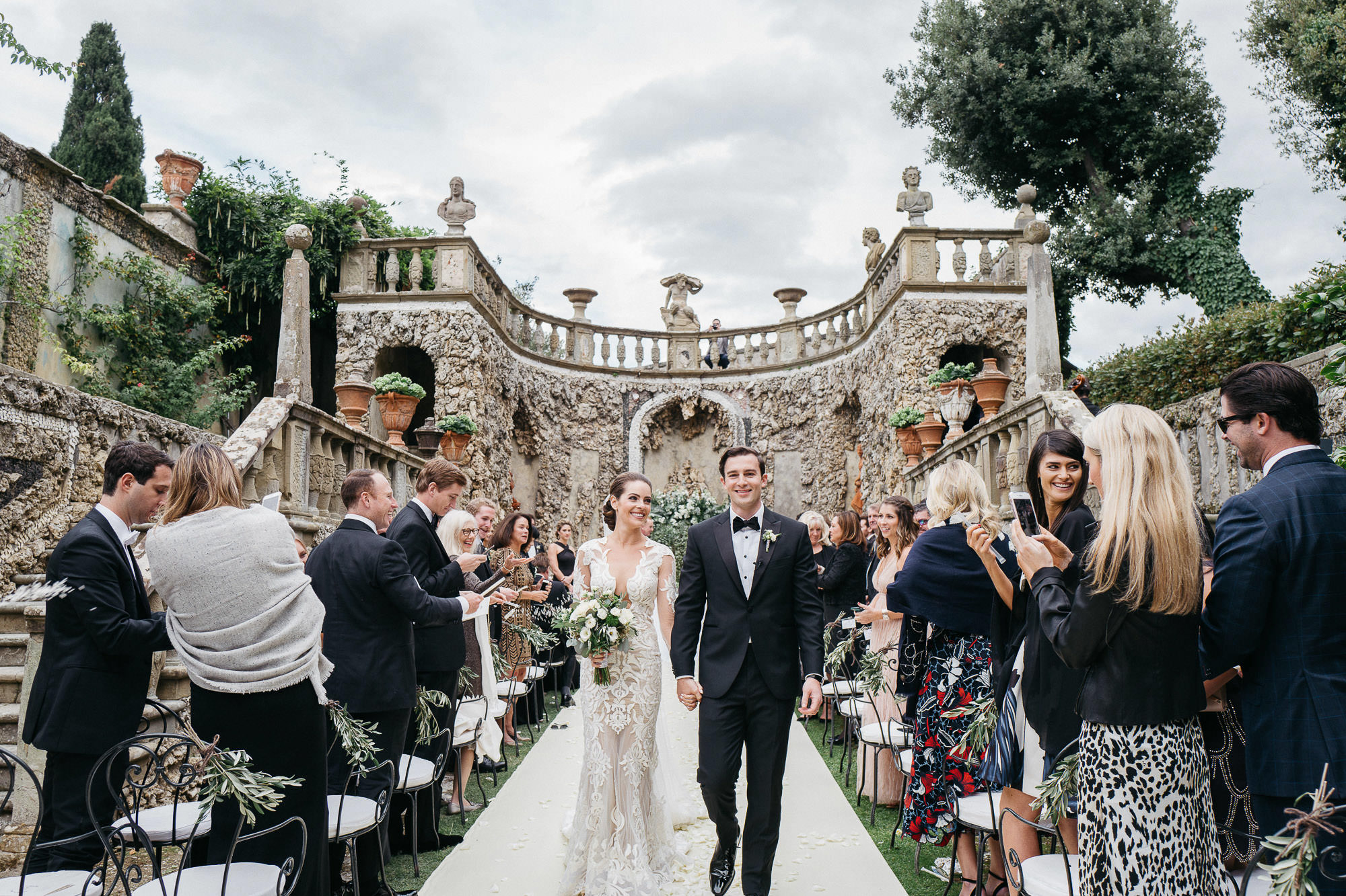 Wedding Ceremony at Tuscany Villa