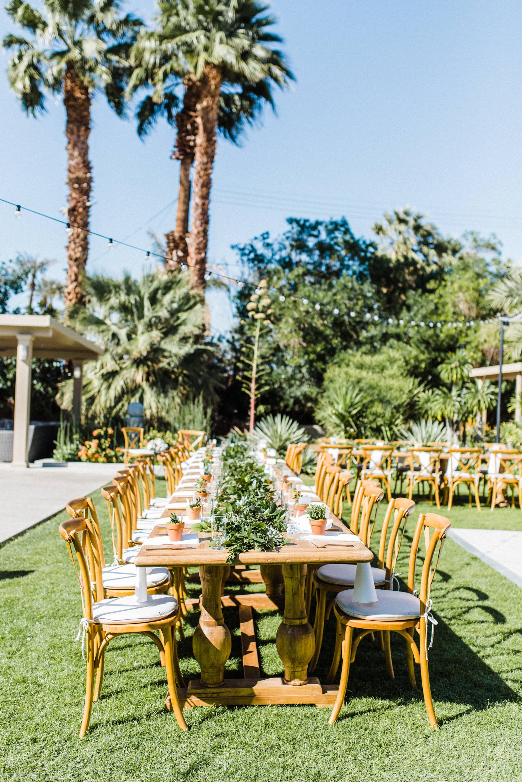 Backyard Wedding Reception at Private Estate