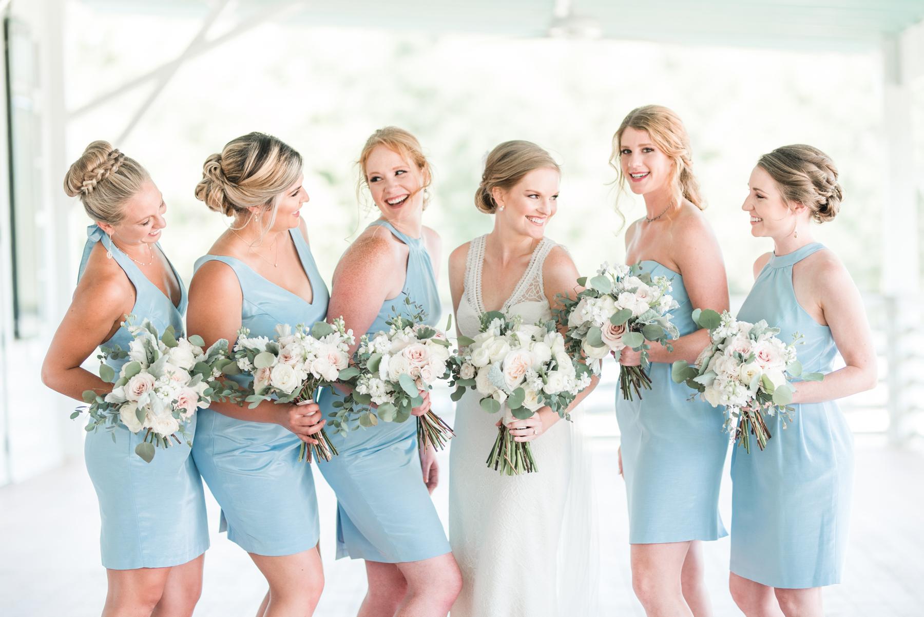 Blue Lula Kate Bridesmaids Dresses