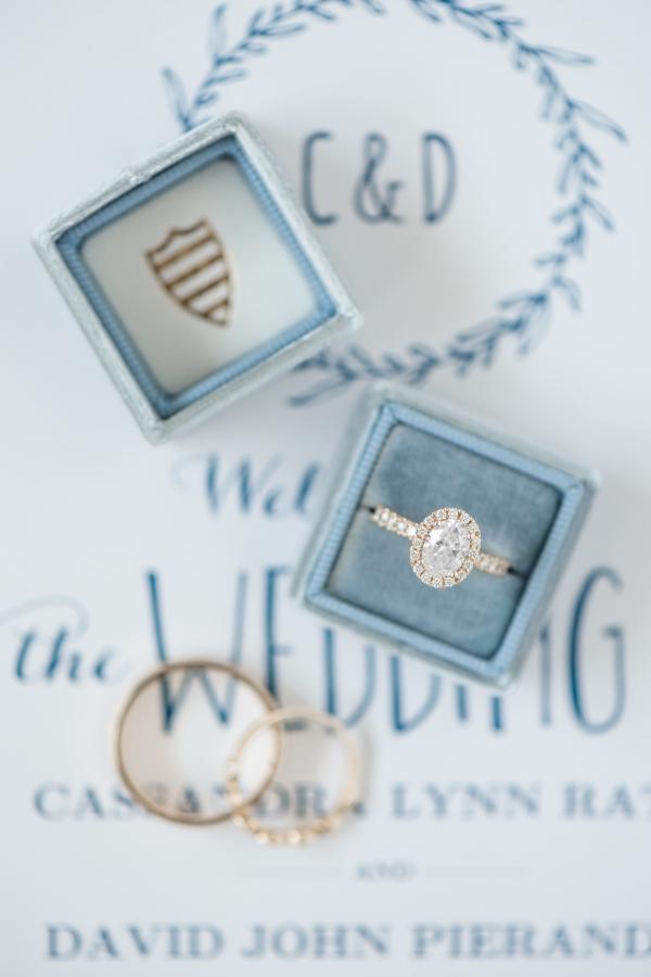 Blue Ring Box