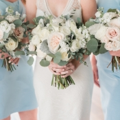 Bridesmaids in Sky Blue 1