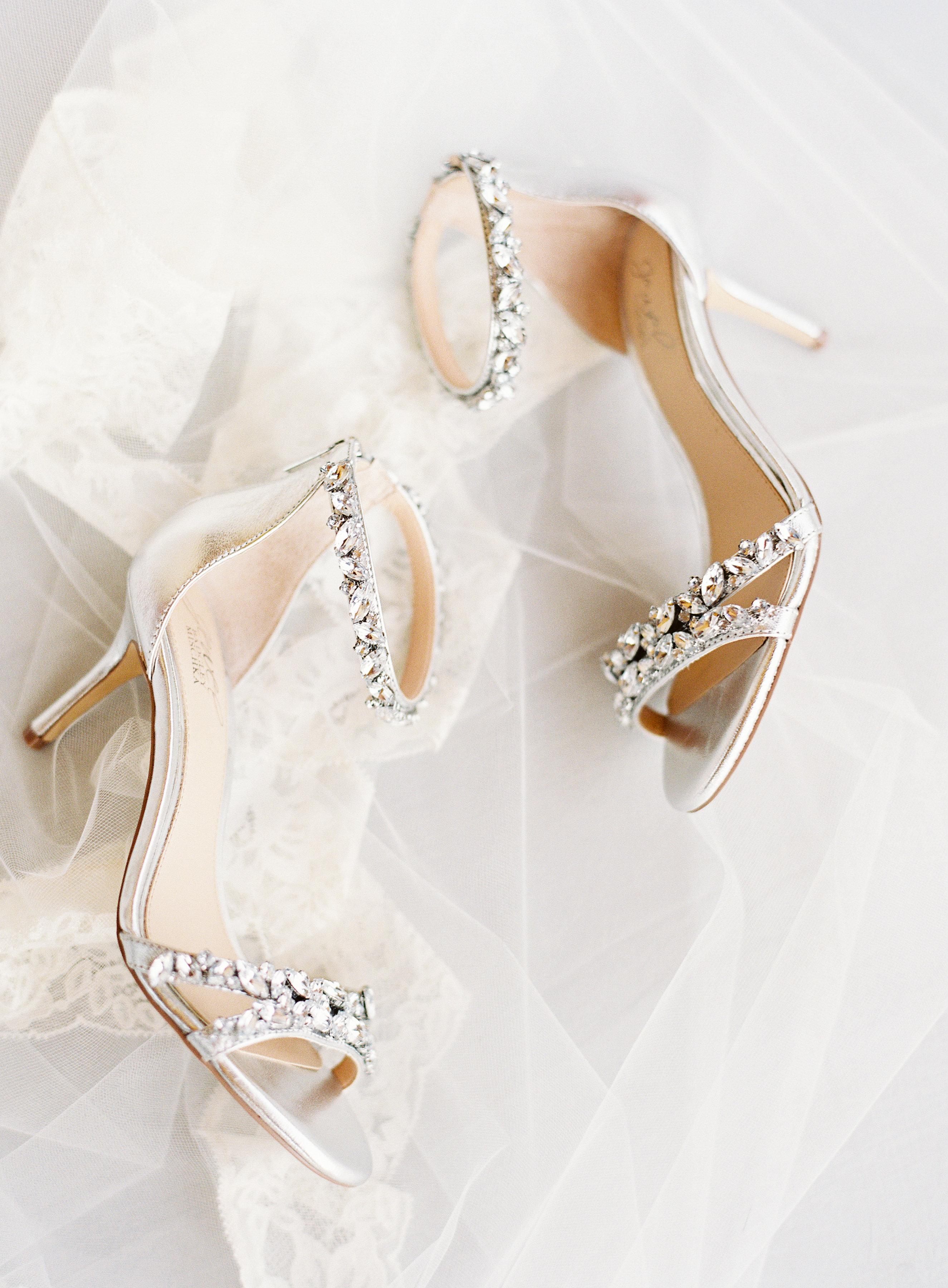 5f3b76e1535 Badgley Mischka Wedding Shoes - Elizabeth Anne Designs  The Wedding Blog