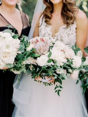 Bridal Bouquets with Protea