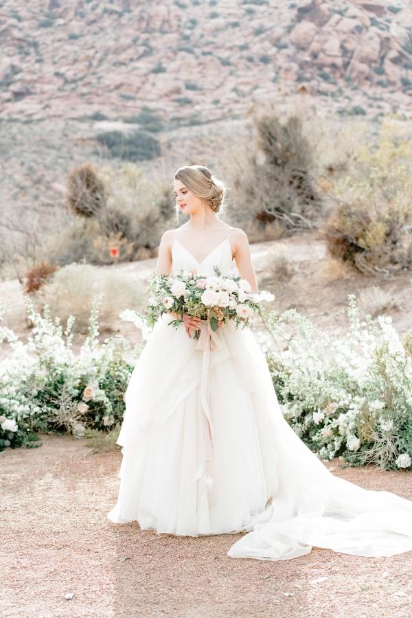 Bride in the Desert