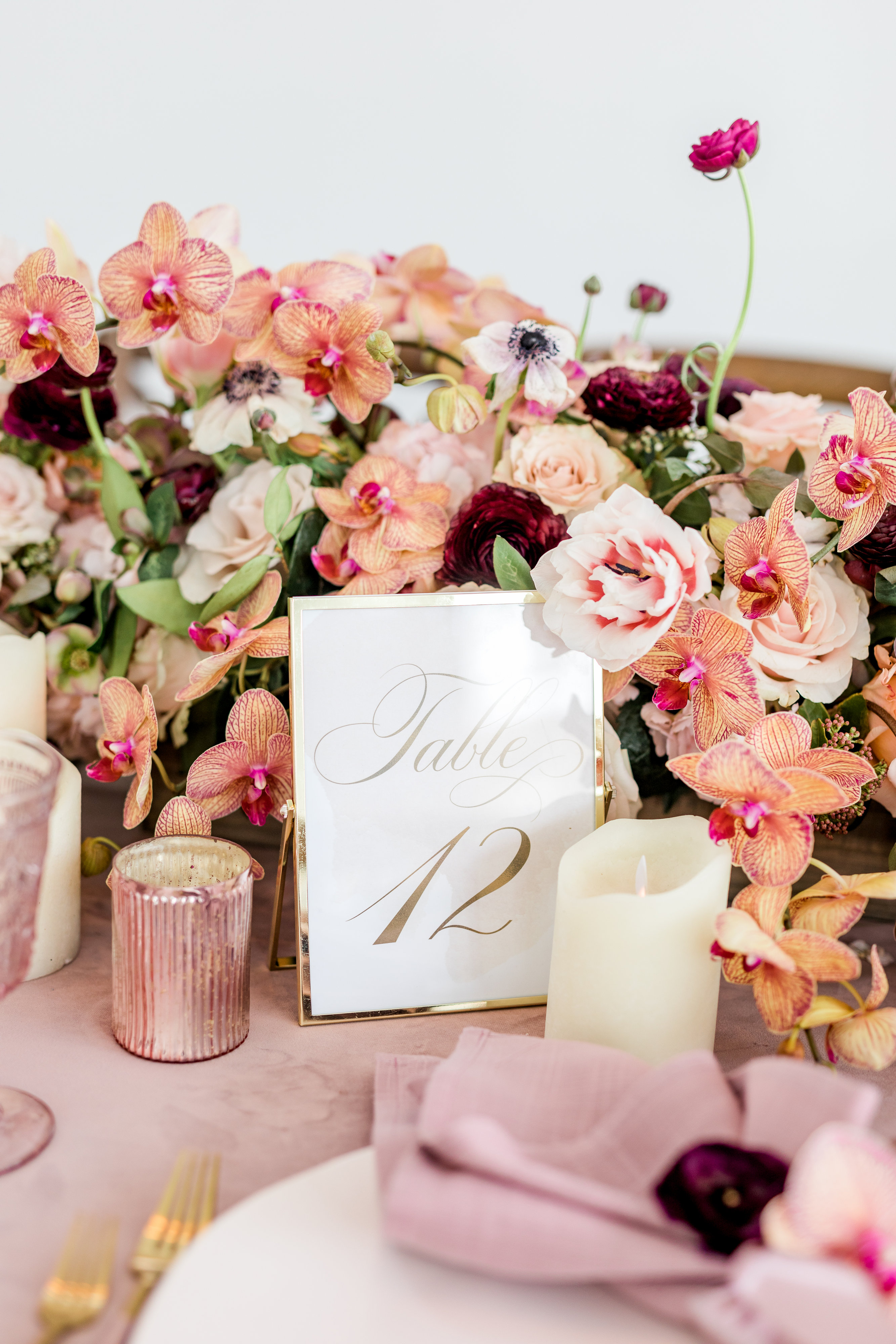 Coral and Gold Wedding Ideas
