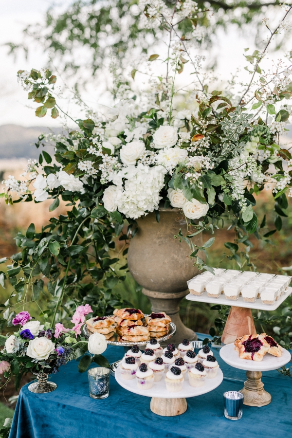 Dessert Table with Berries