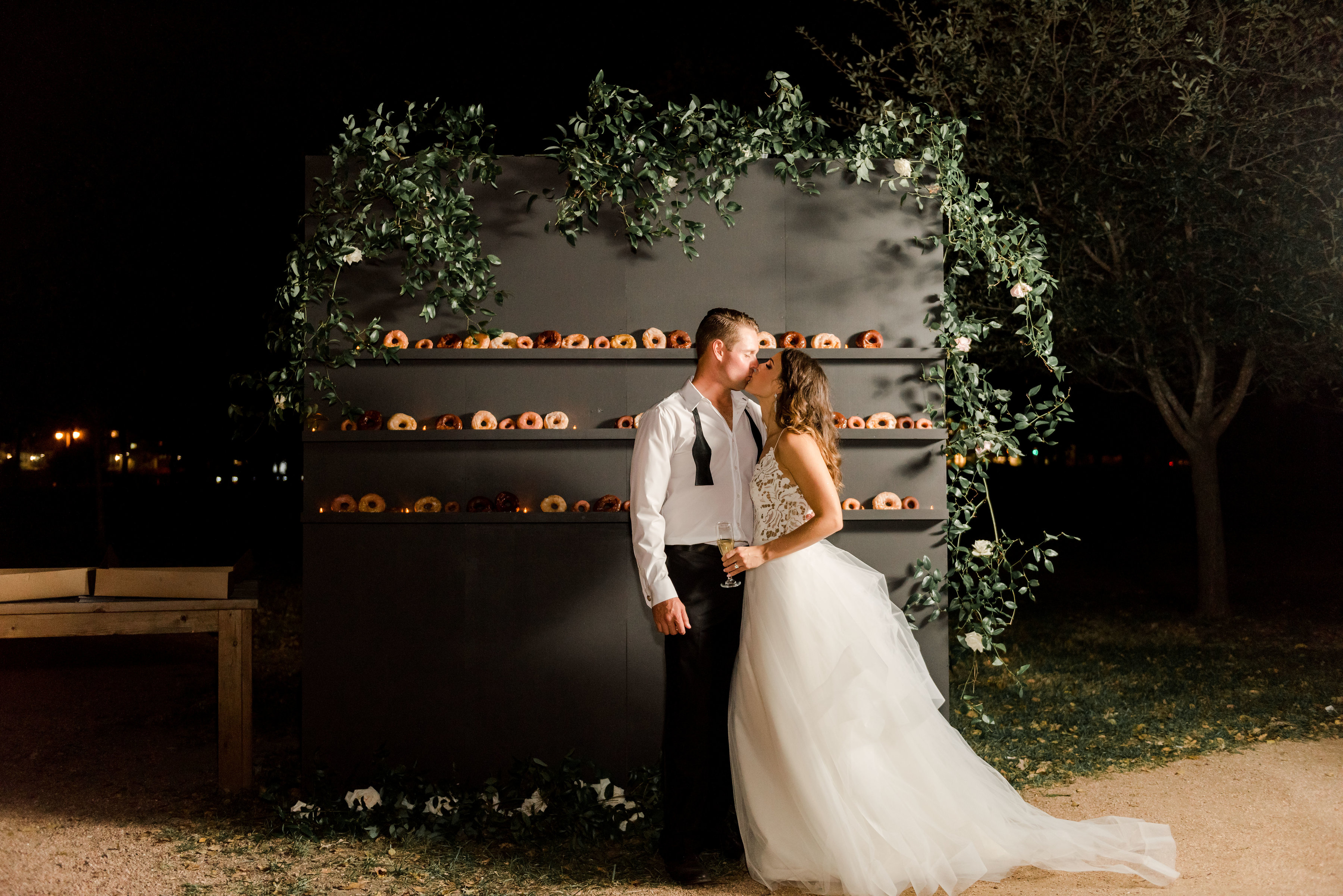 Donut Wall for Wedding